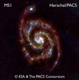 La galaxie Messier 51