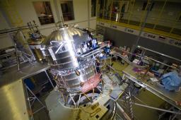 Cryostat en test