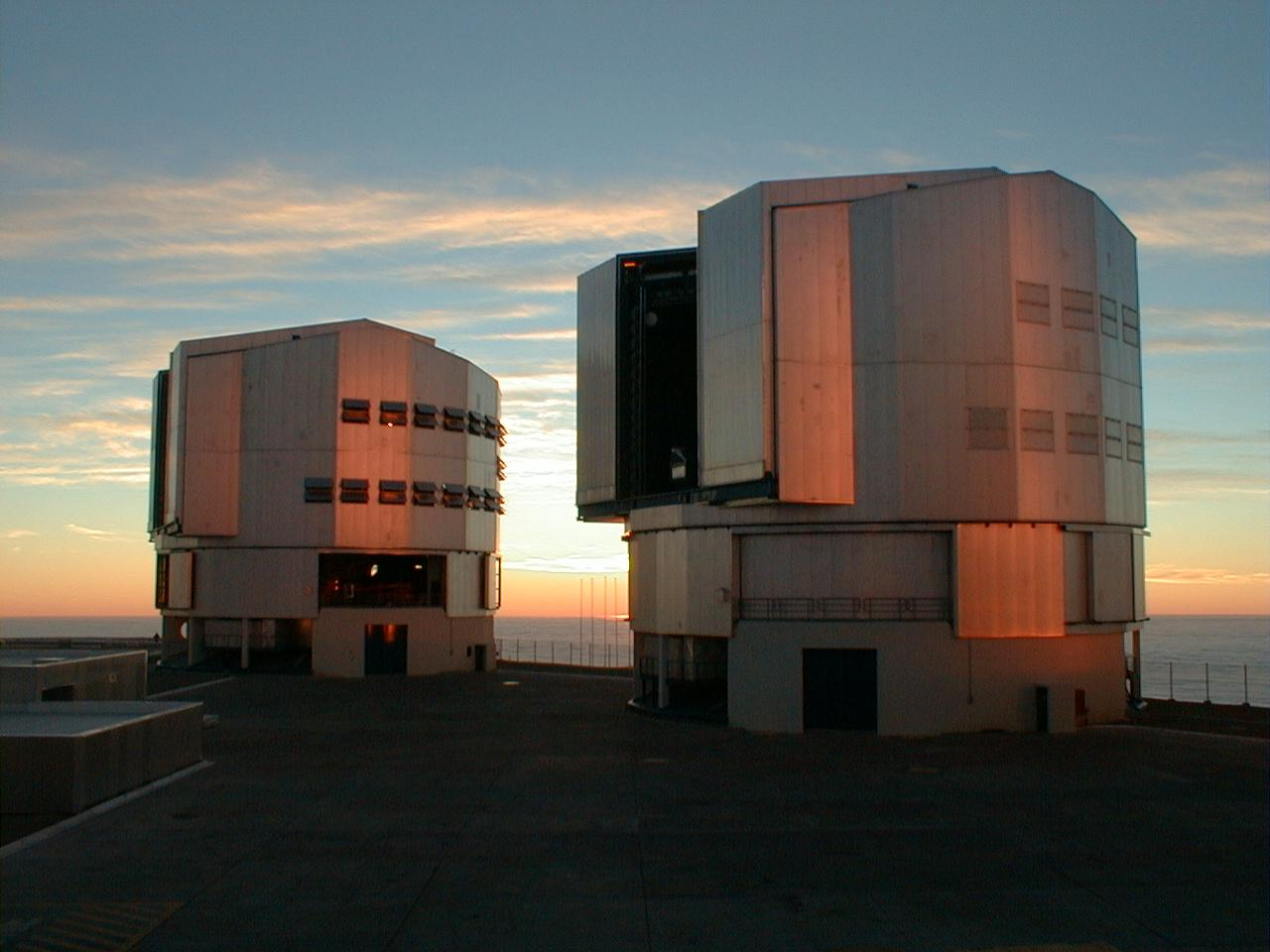 Télescopes de l'infrarouge