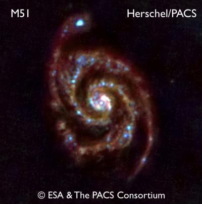 Le télescope spatial Herschel ouvre un oeil sur l'Univers