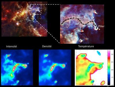 Les piliers de la création revisités par Herschel