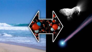 Un nouveau regard sur l'origine des océans terrestres